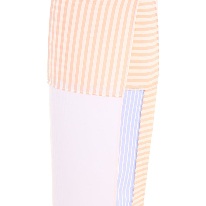 MM6 Cotton Stripe Shirt Skirt