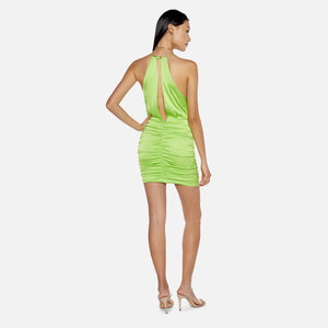 Manning Cartell Game Changer Mini Dress - Acid Green