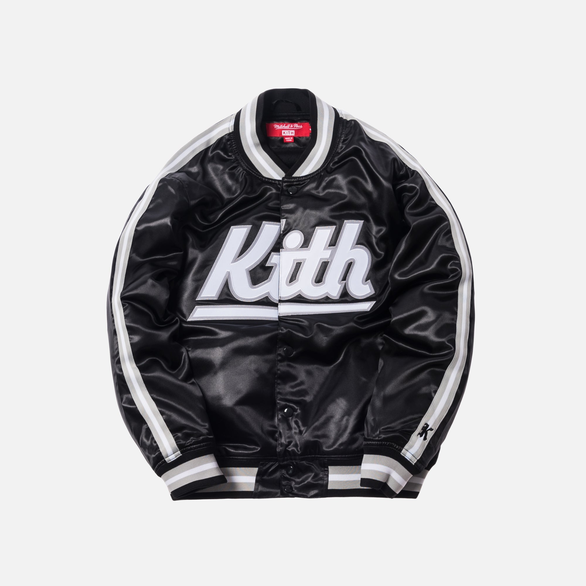 Kith x Mitchell & Ness Satin Warm-Up Jacket - Los Angeles