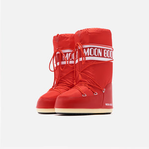 Kith Women Moon Boot Nylon - Red Image 3