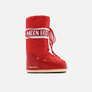 Kith Women Moon Boot Nylon - Red Image 1