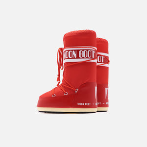Kith Women Moon Boot Nylon - Red Image 4