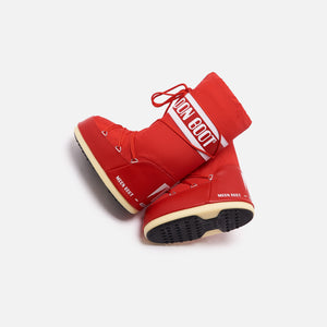 Kith Women Moon Boot Nylon - Red Image 2