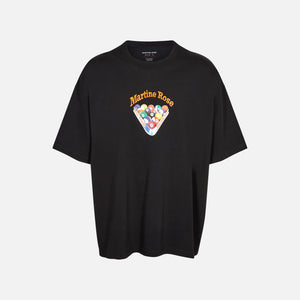 Martine Rose Brittle Tee - Black Snooker
