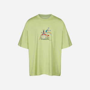 Martine Rose Brittle Tee - Green Cartoon