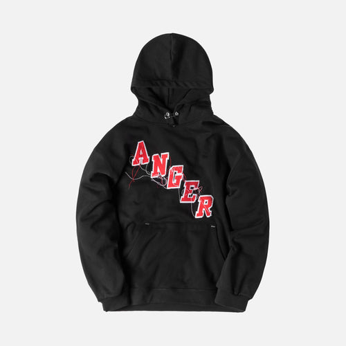 Mr. Completely Anger Factory Hoodie - Black