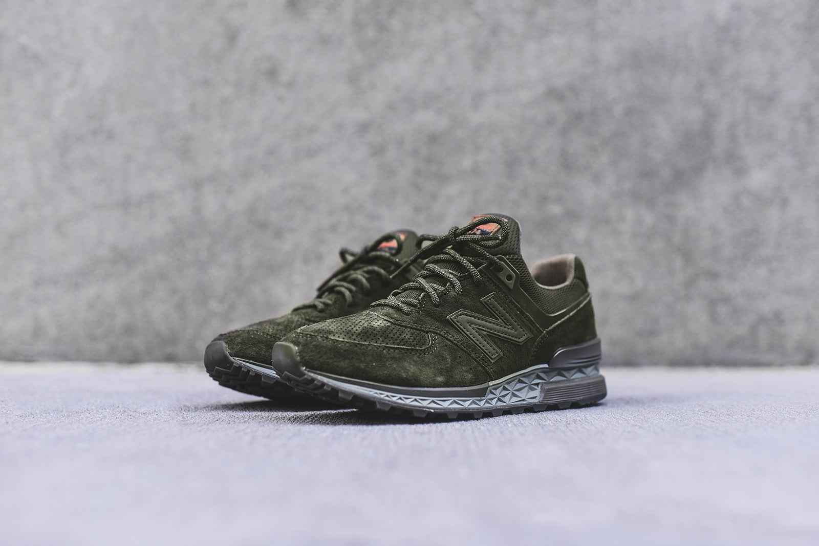 New Balance 574S Suede Sneakers