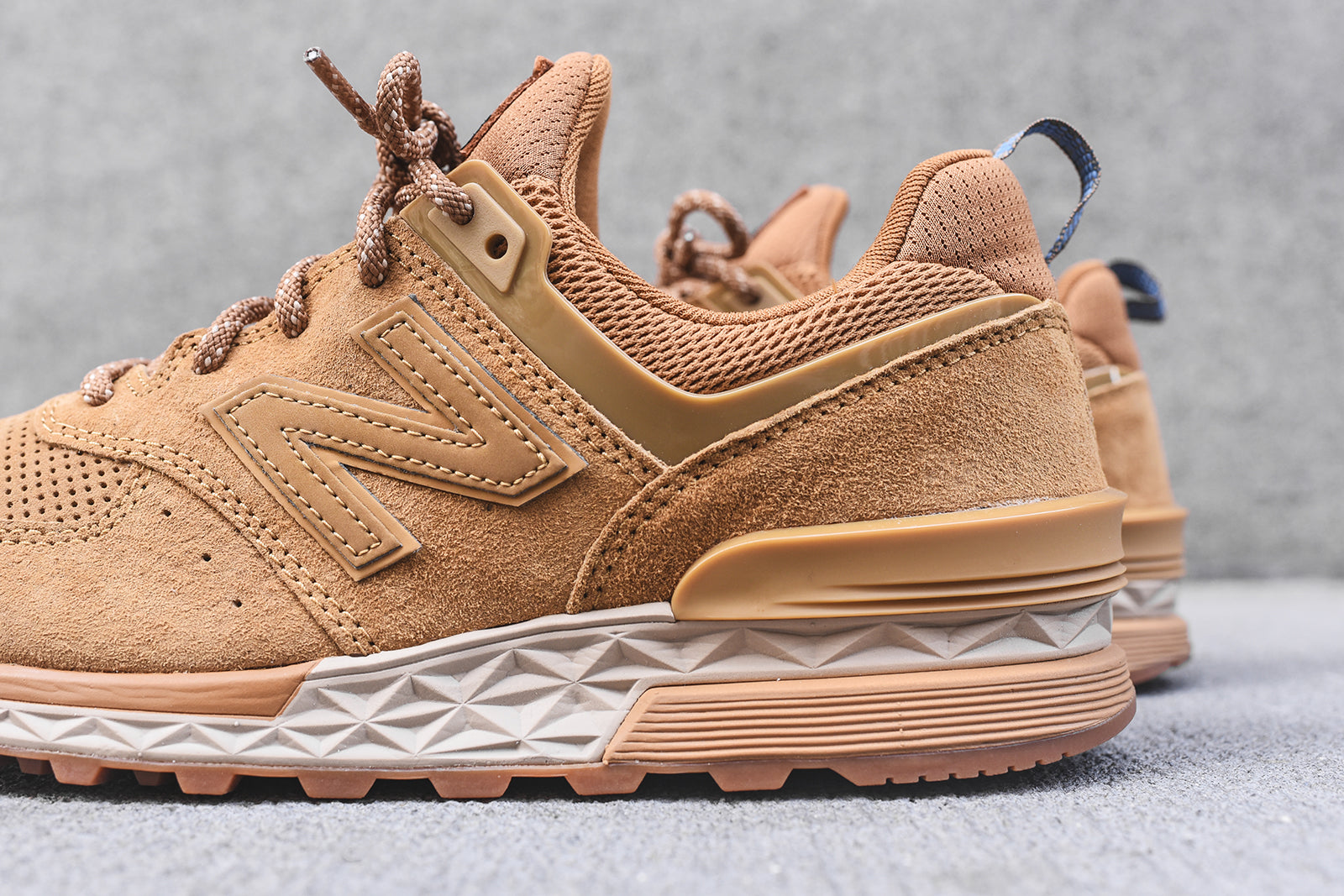 New Balance 574S - Wheat
