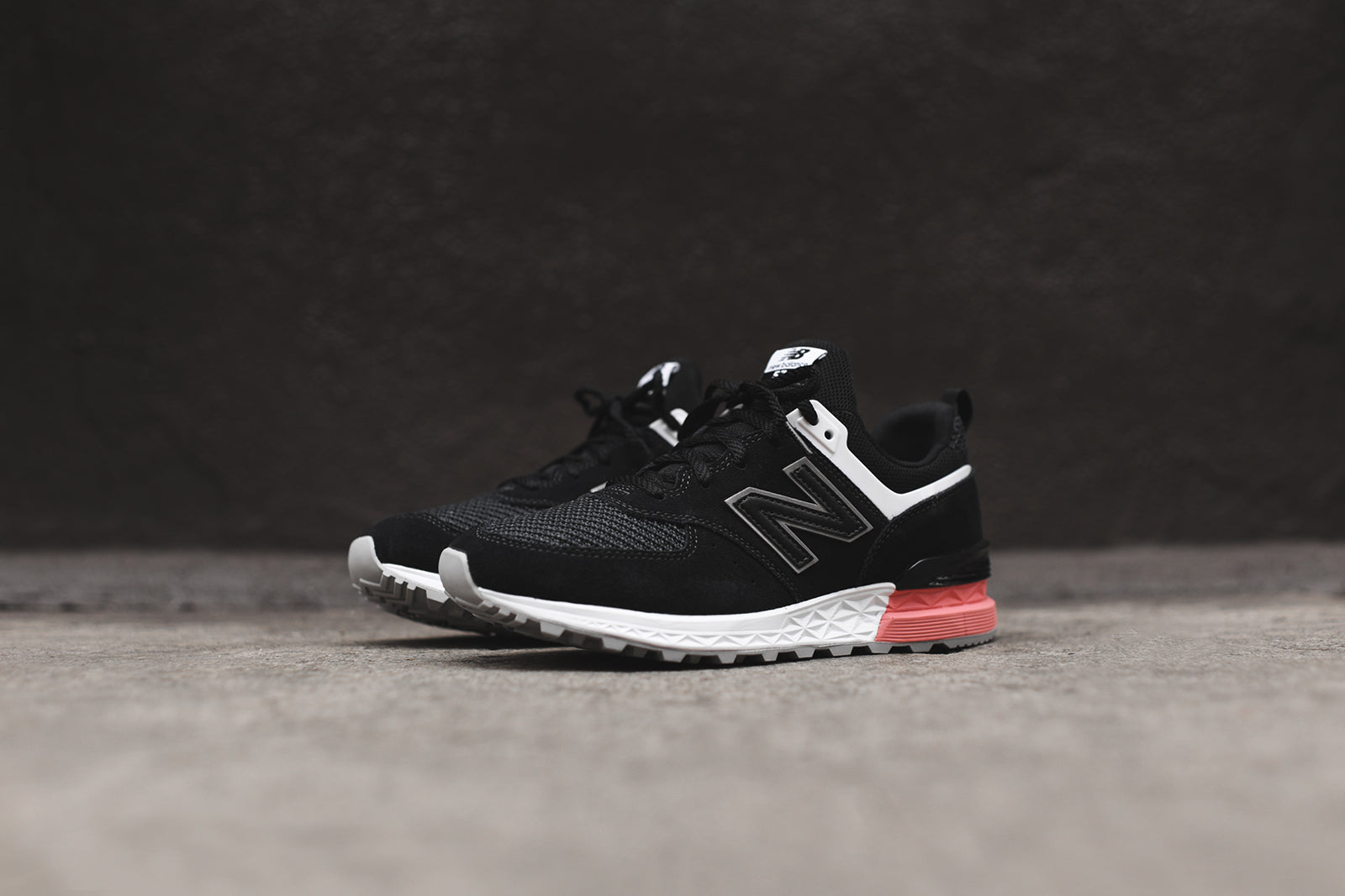 New Balance MS574STK - Black / Pink