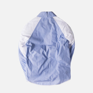 Tim Coppens FZ Shirt Jacket - Blue / White