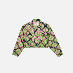 Maisie Wilen Club Jacket - World Clique Green