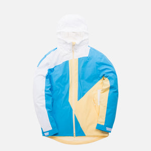 Kith Madison Jacket - Sky Blue / Pale Yellow / White