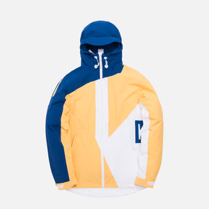 Kith Madison Jacket - Yellow / White / Royal