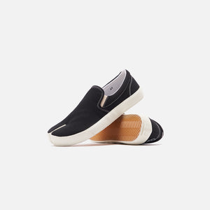 Maison Margiela Vandal Tabi Slip On - Black