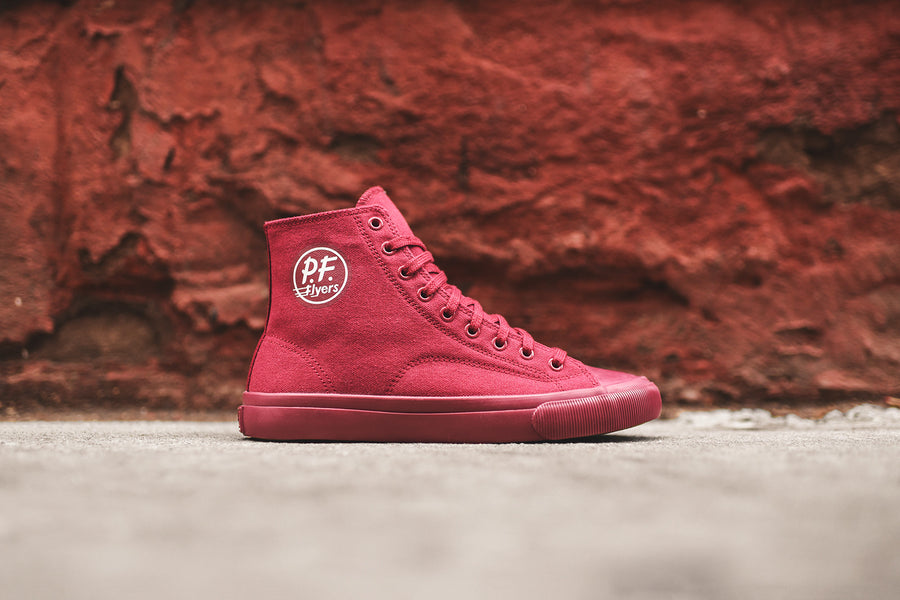 PF Flyers Center Hi - Maroon