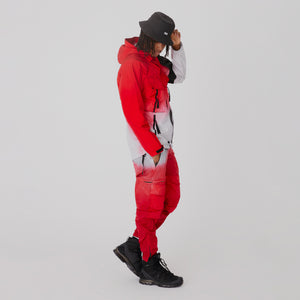 Kith for Nemen Flycat Jet Pant - Samba Red Dip Dye