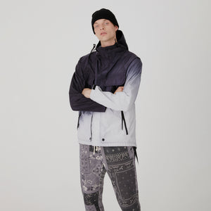 Kith for Nemen Dare 3L Dip Dye Jacket - Iron Grey Dip Dye