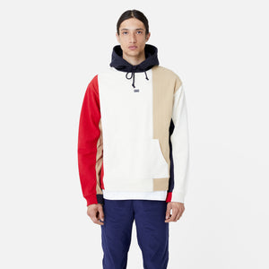Kith Quilted Colorblock Hoodie - Tan / Multi Image 5