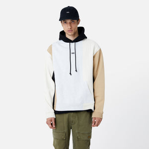 Kith Quilted Colorblock Hoodie - Black / Multi Image 5