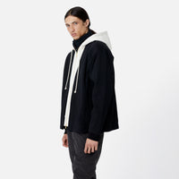 Kith Haori Zip-Up Hoodie - Black Thumbnail 1