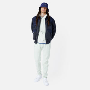 Kith Colorblocked Sateen Bomber - Navy Image 7