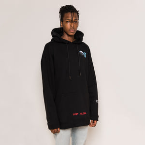 Kith x Off-White Just Global Hoodie - Black
