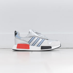 buy popular 8d2de e5613 adidas Never Made Micro R1 - Silver  Blue  Red