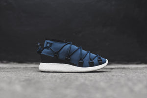 Y-3 WMNS Cross Lace Run - Midnight / Black / White
