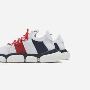 Moncler The Bubble Sneaker - White / Blue / Red