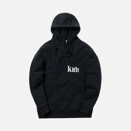 Kith Pocket Williams Hoodie - Black