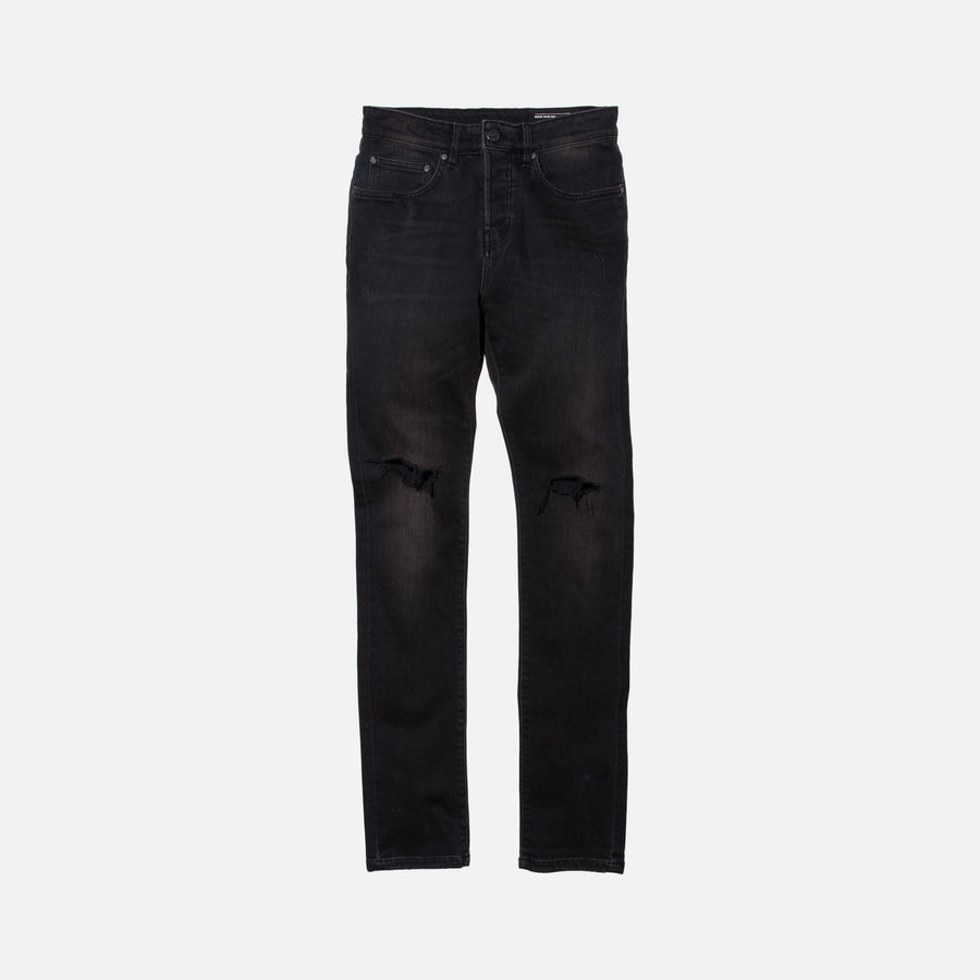 Kith Classics Monroe Destroyed Denim - Black