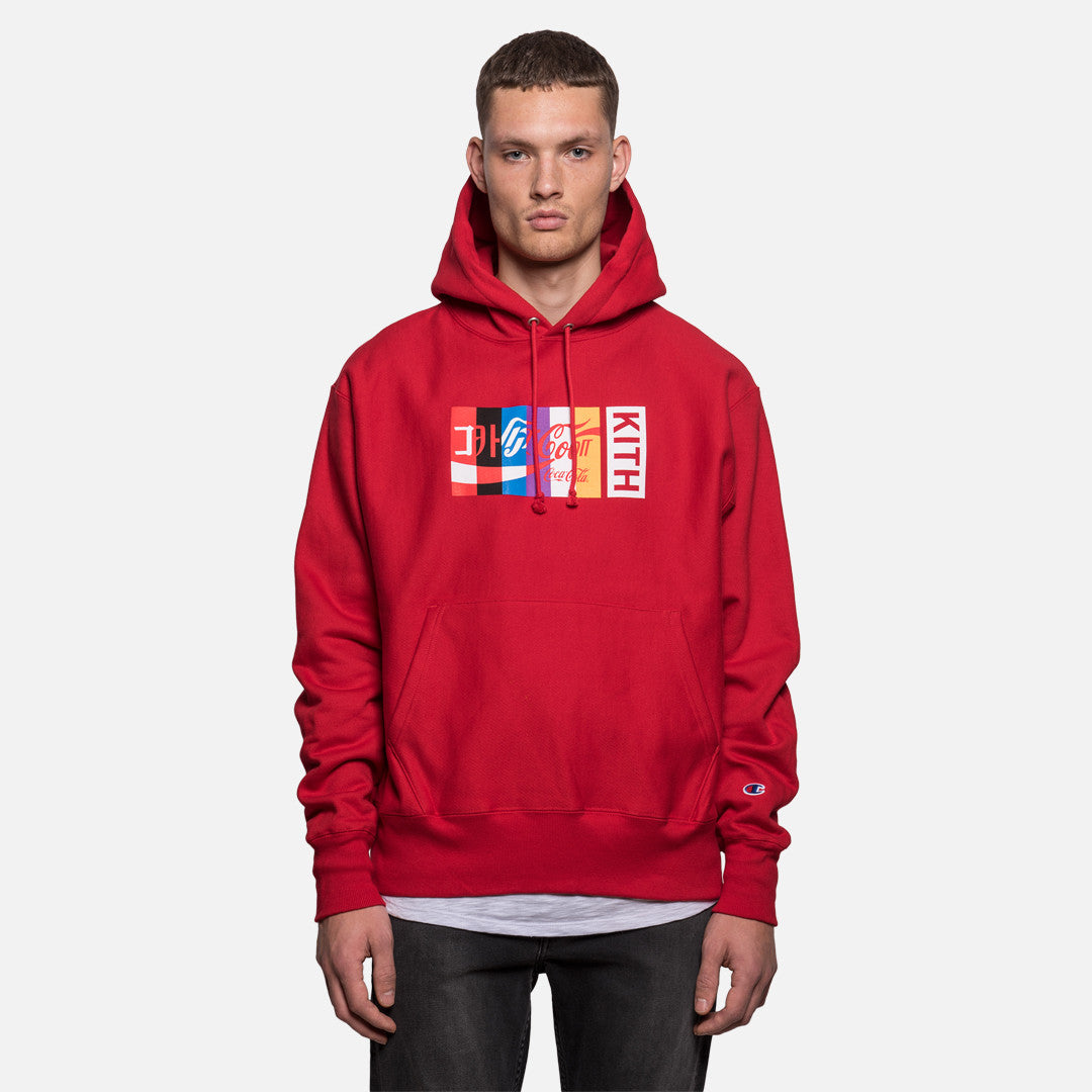 Kith x Coca-Cola International Hoodie - Red