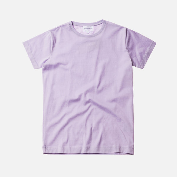 Norse Projects Esben Mercerized Pima - Lavender