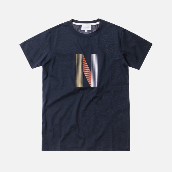 Norse Projects Niels Layer Logo - Dark Navy