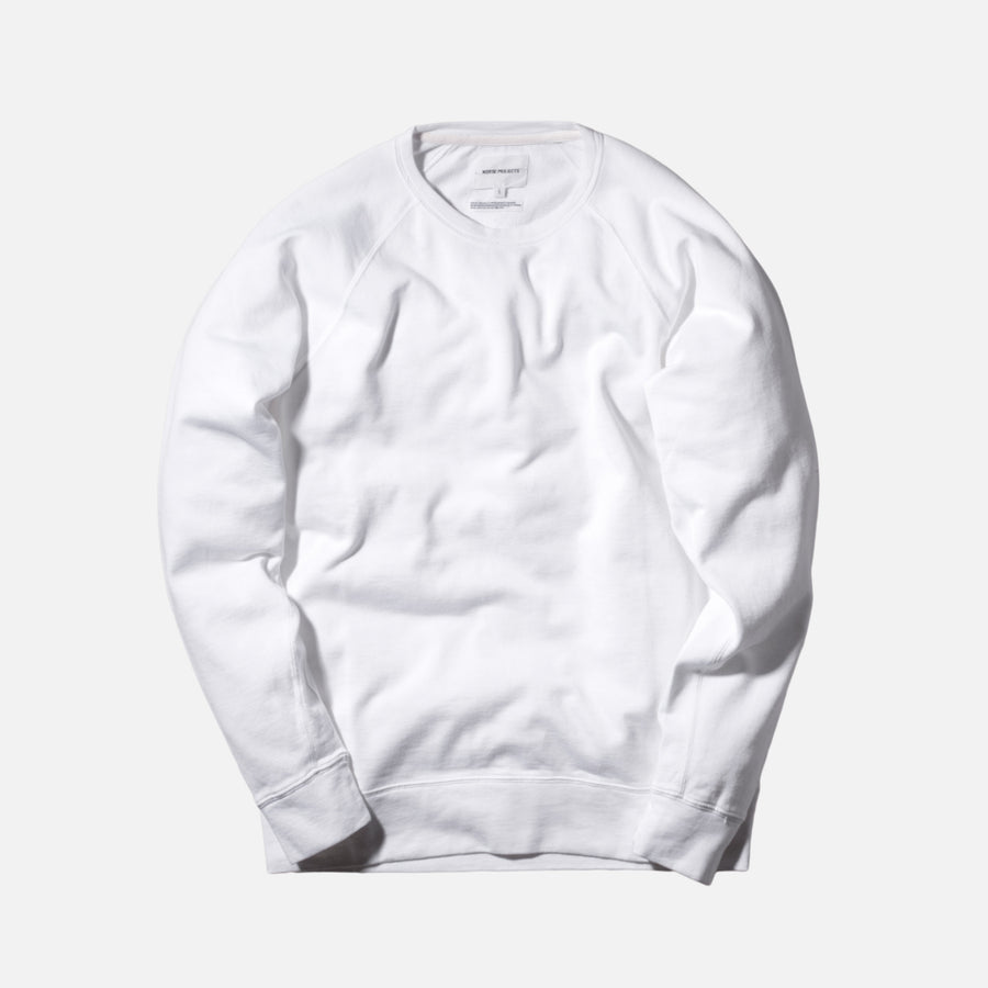 Norse Projects Vorm Mercerized Crewneck - White
