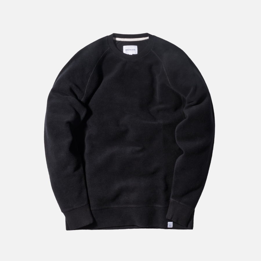 Norse Projects Ketel Crewneck - Black