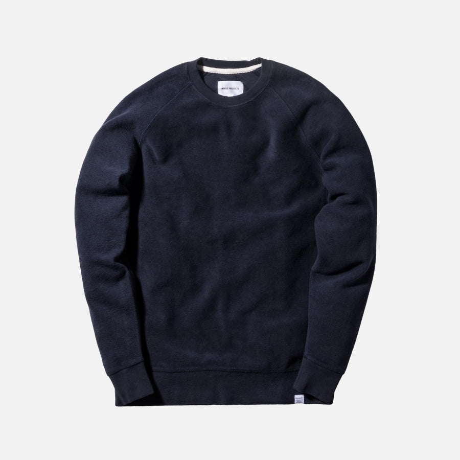 Norse Projects Ketel Crewneck - Navy