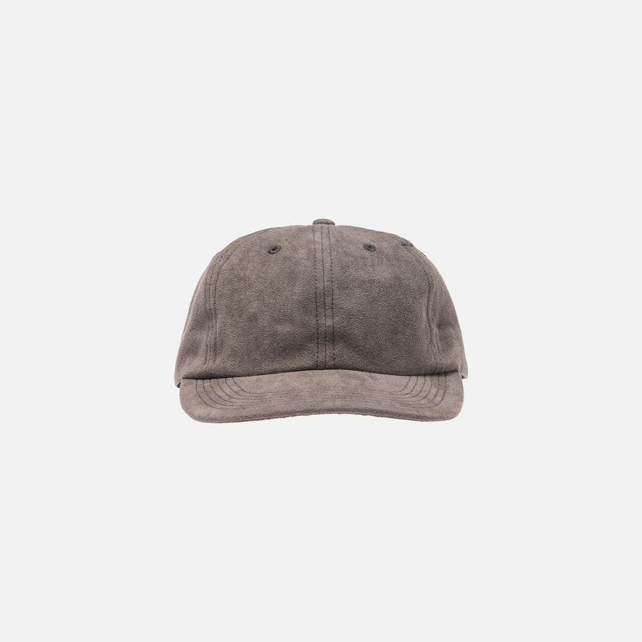 Norse Projects Light Faux Suede Cap - Iron