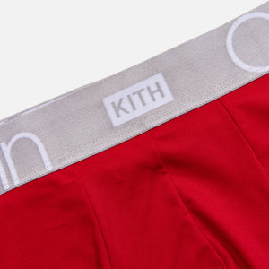Kith for Calvin Klein Seasonal Boxer Brief - Crimson Image 3