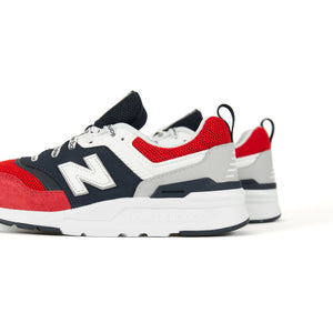 New Balance Grade School 997H Pigment - Team Red