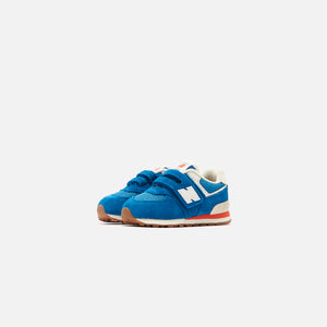 New Balance 574 Toddler - Light Rogue Wave / Ghost Pepper