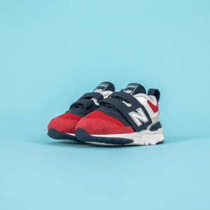 New Balance Infant 997H Strap Pigment - Team Red