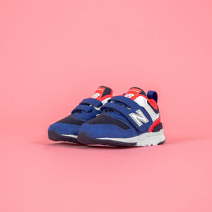 New Balance Infant 997H Strap - Team Royal / Energy Red