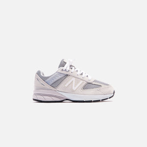 New Balance 990 V5 Pre-School - Nimbus Cloud / Silver Metallic
