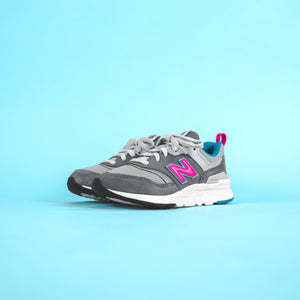 New Balance Pre-School 997 HV1 - Grey / Pink / Blue