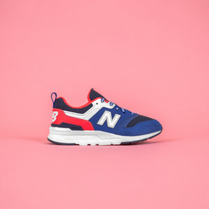 New Balance Pre-School 997H - Team Royal /  Energy Red Image 1