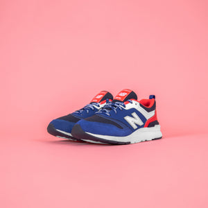 New Balance Pre-School 997H - Team Royal /  Energy Red Image 3