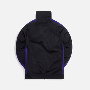 Needles Track Poly Smooth Jacket - Charcoal