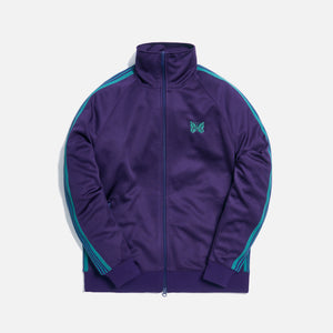 Needles Track Jacket Poly - Smooth Eggplant