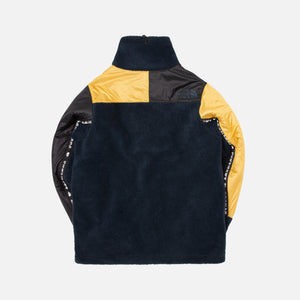 The North Face KK High Neck Fleece Jacket - Black / Yellow